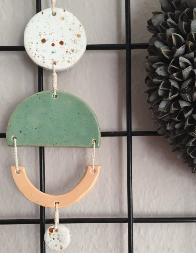 Ceramic Wallhanging Spring Collection