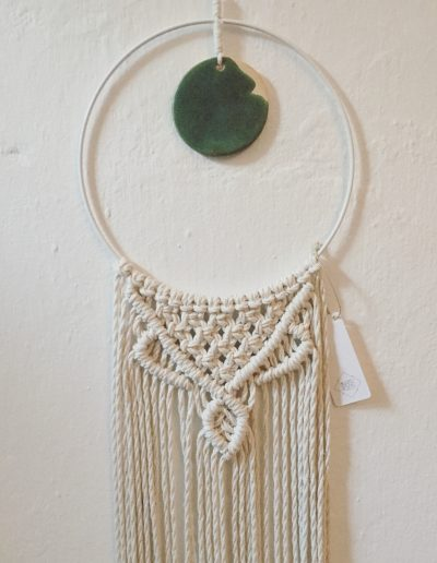 Circle Wallhanging M mit Keramikdetail