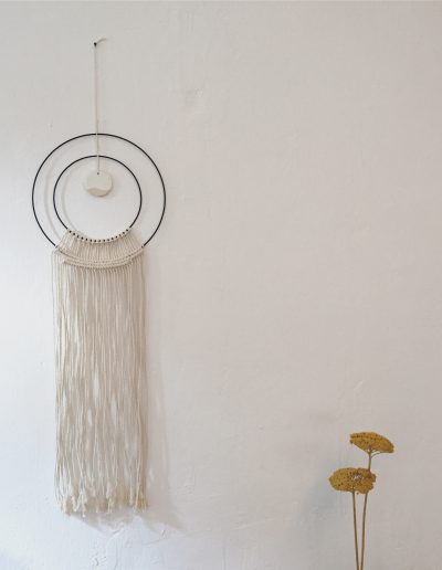 Double Circle Wallhanging